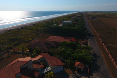Beachfront Home For Sale La Barqueta, Chiriqui, Panama