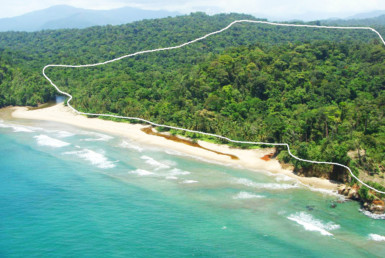 Beachfront Caribbean Property For Sale, Calovebora, Santa Fe, Veraguas, Panama