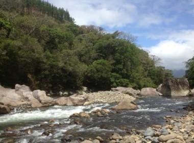 Rio Onda River Santa Maria