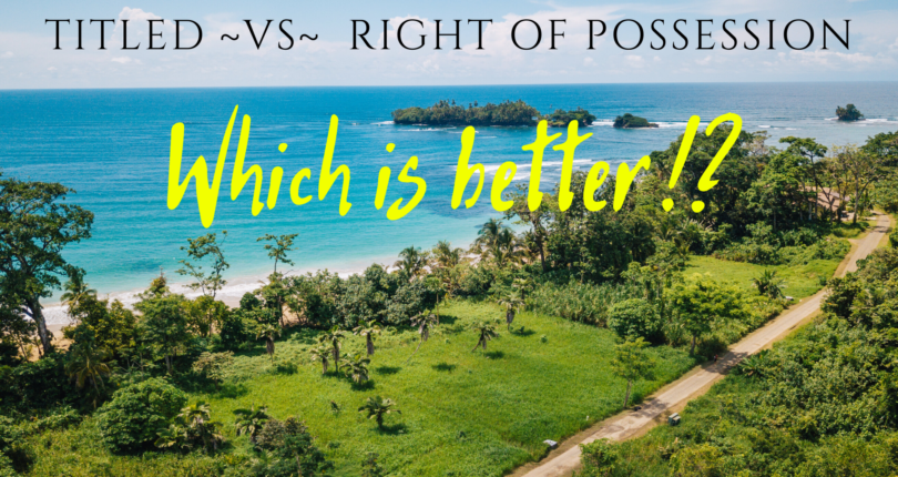 Titled Property ~VS~ Right Of Possession !